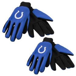Indianapolis Colts Two-tone Gloves (Set of 2 Pair) - Thumbnail 0
