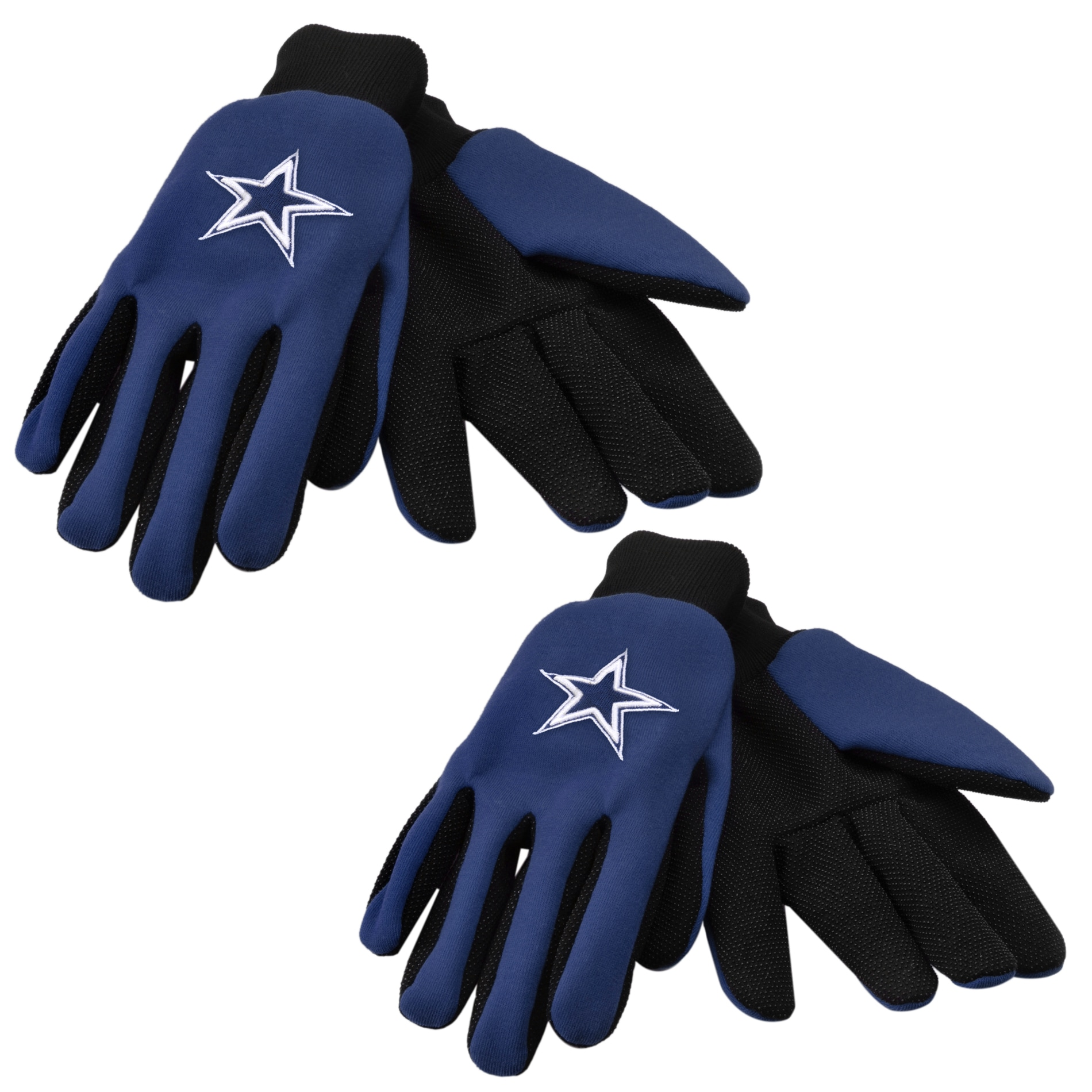 Dallas Cowboys Two-tone Work Gloves (Set of 2 Pair)