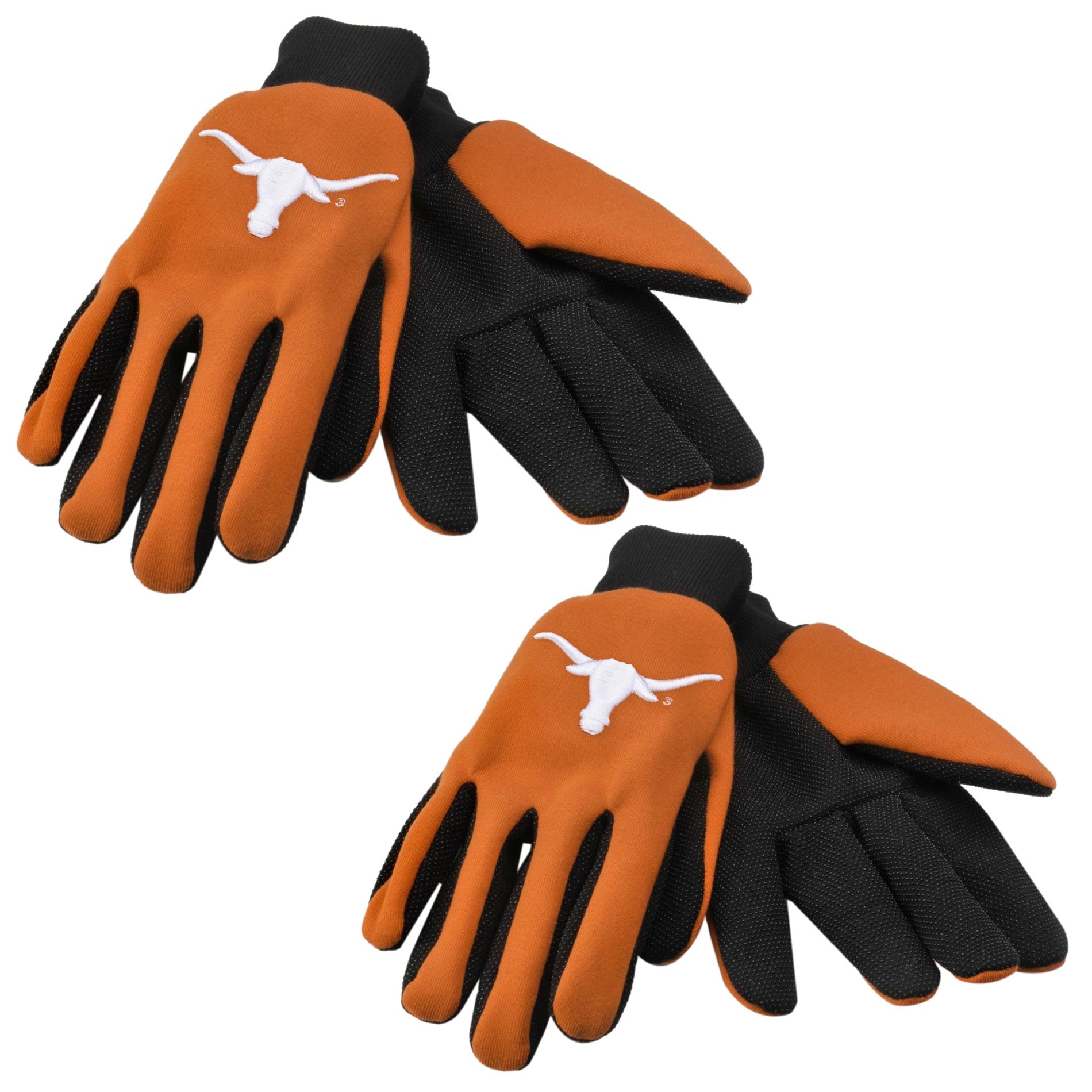 Texas Longhorns Two-tone Work Gloves (Set of 2 Pair)