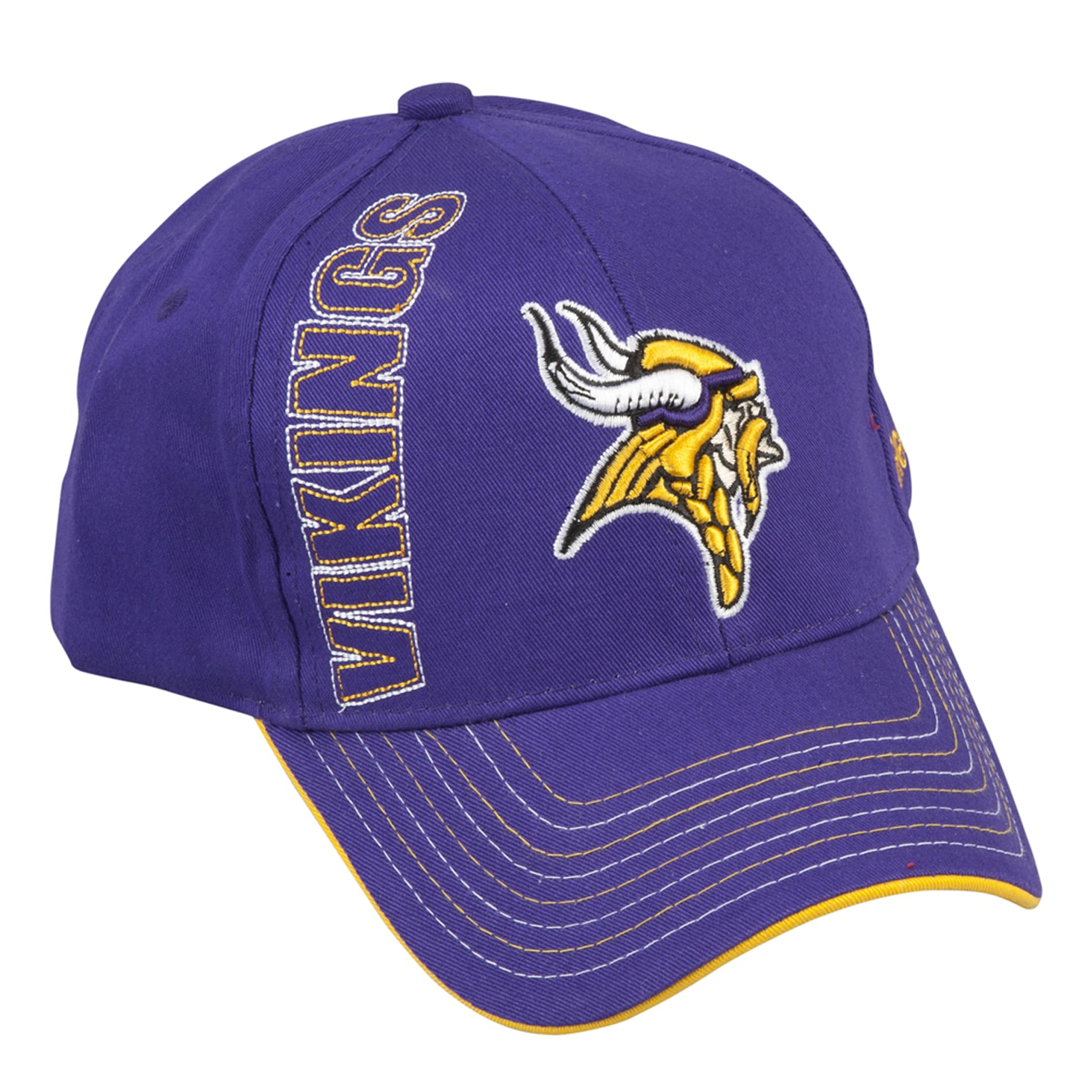 Shop Reebok Minnesota Vikings Yardage Hat - Free Shipping On Orders Over   45 - Overstock.com - 6393223 7e2afe5dd