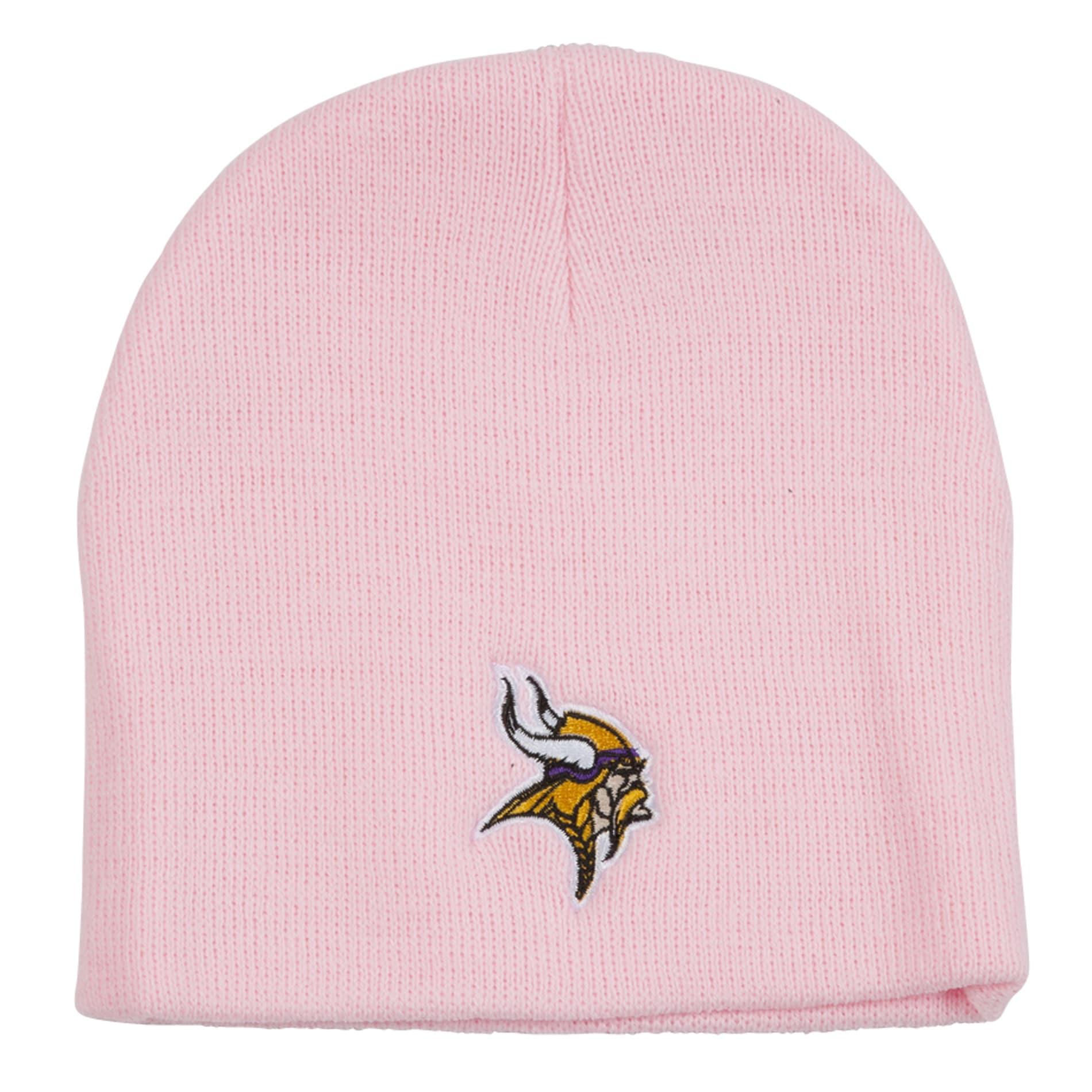 Minnesota Vikings Pink Beanie Stocking Hat