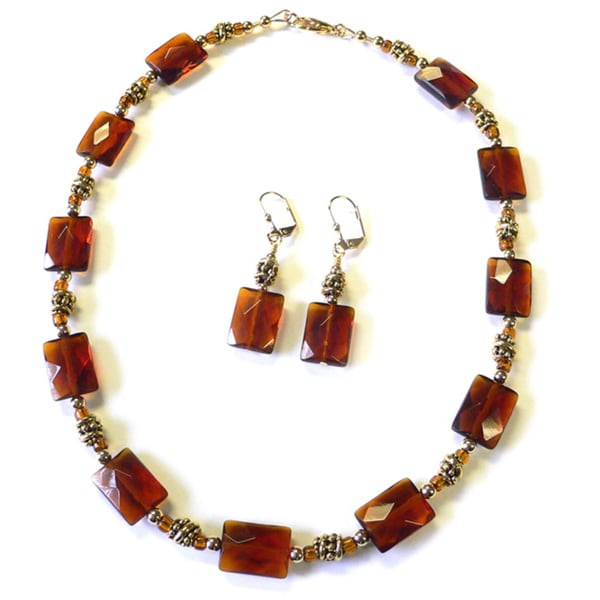 Sienna Dawn' Necklace and Earring Set