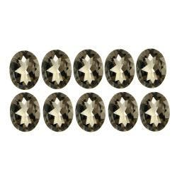 Glitzy Rocks 6x4 Oval-cut Smokey Quartz Stones (5ct TGW) (Set of 10)|https://ak1.ostkcdn.com/images/products/6393409/78/485/Glitzy-Rocks-6x4-Oval-cut-Smokey-Quartz-Stones-5ct-TGW-Set-of-10-P14005282.jpg?impolicy=medium