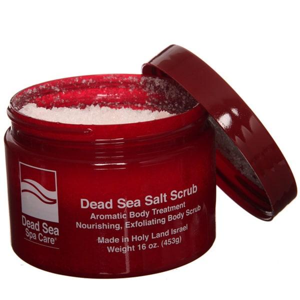 Dead Sea Spa Care Dry 16-ounce Salt Scrub (Pack of 4)