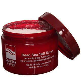 Dead Sea Spa Care Dry 16-ounce Salt Scrub (Pack of 4)