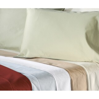 Grand Luxe Egyptian Cotton 500 Thread Count Solid California King-size Deep Pocket Sheet Set
