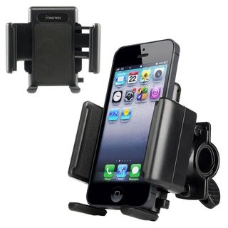 INSTEN Black Universal Bicycle Phone Holder (Pack of 2)