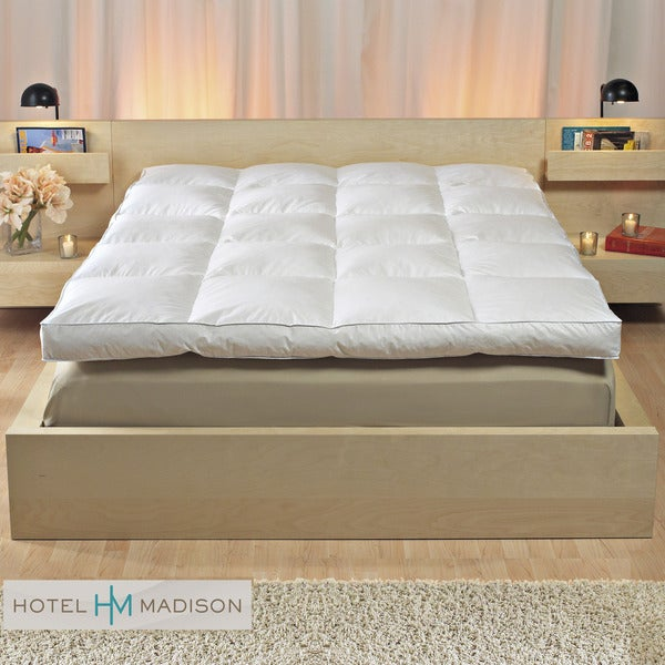 Hotel Madison 4-inch Gusset Queen/ King/Cal King-size Fiberbed