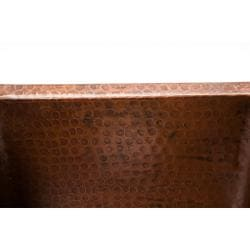 Premier Copper Products Rectangular Gourmet Oil Rubbed Bronze Copper Drop-in Bar Sink - Thumbnail 1