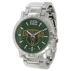 Geneva Platinum Men's Baylor Bears Link Watch