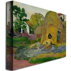Paul Gauguin 'Golden Harvest 1889' Canvas Art