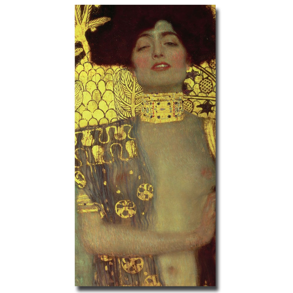 Gustav Klimt 'Judith' 1901' Canvas Art