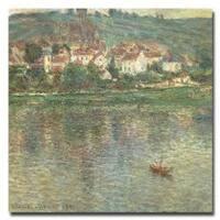 Claude Monet 'Vetheuil 1901' Canvas Wall Art