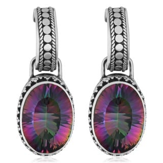 Sterling Silver Mystic Topaz 'Cawi' Earrings (Indonesia)