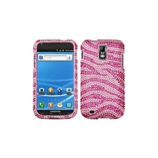 BasAcc Premium Samsung Galaxy S2/ S II Zebra Rhinestone Case