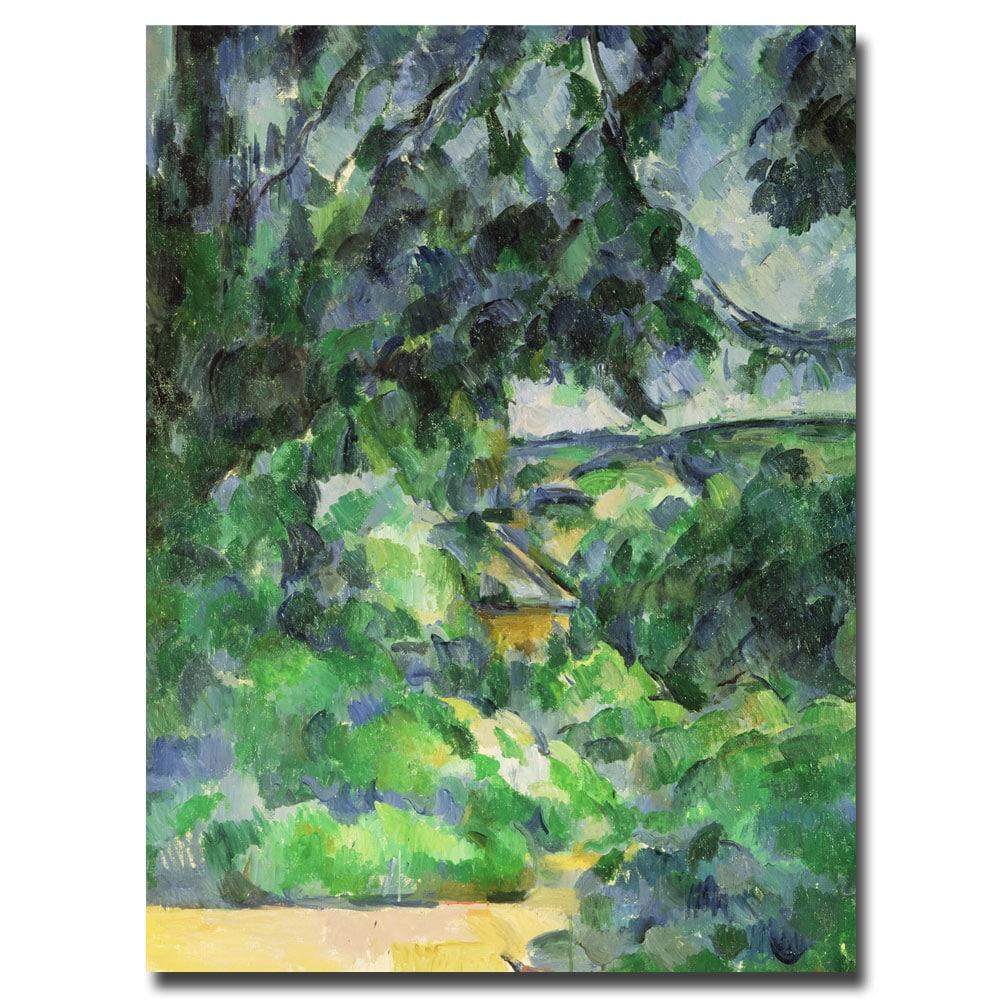 Paul Cezanne 'Blue Landscape, 1903' Canvas Art