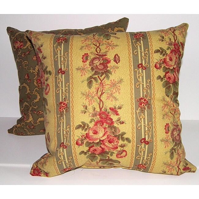 Travistock Stripe Decorative Pillows (Set of 2)