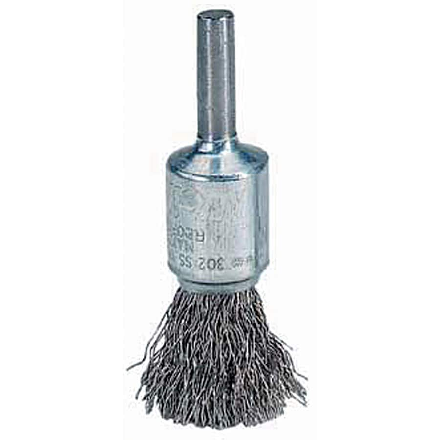 Crimped Wire Solid End Brush