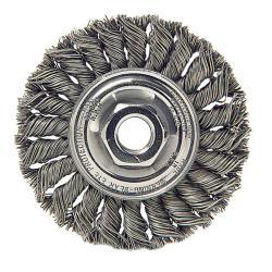 Dualife Standard Twist Knot Wire Wheel