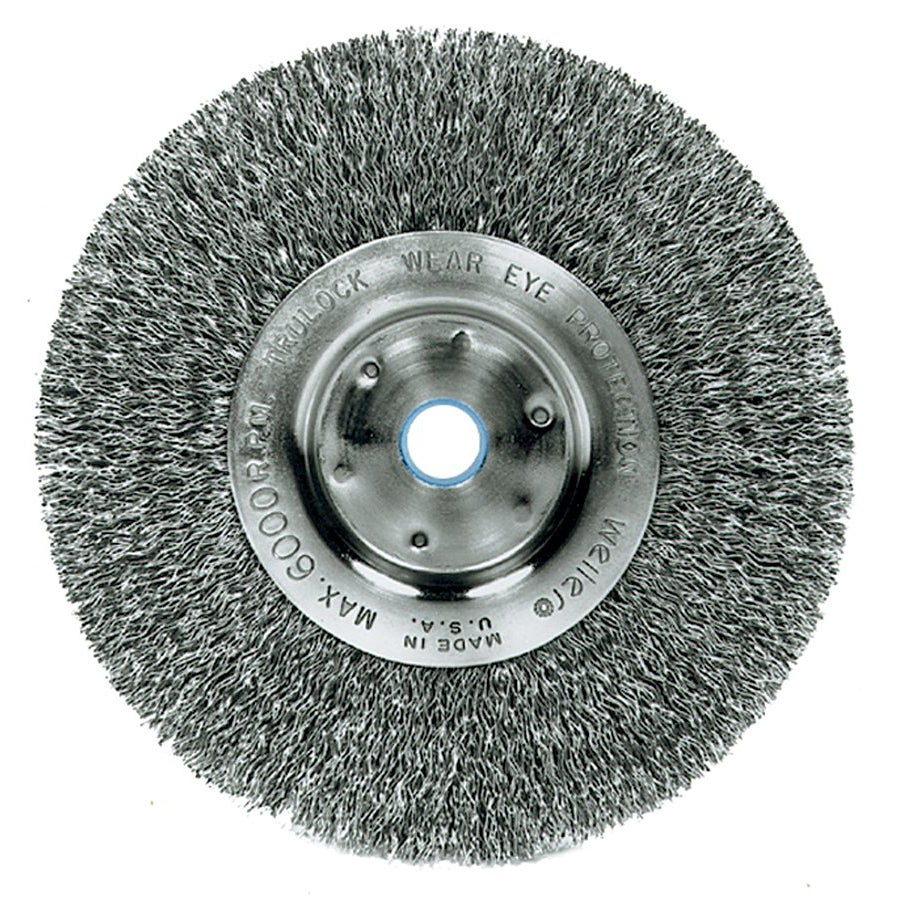 Trulock Narrow-Face Crimped Wire Wheel - Thumbnail 0