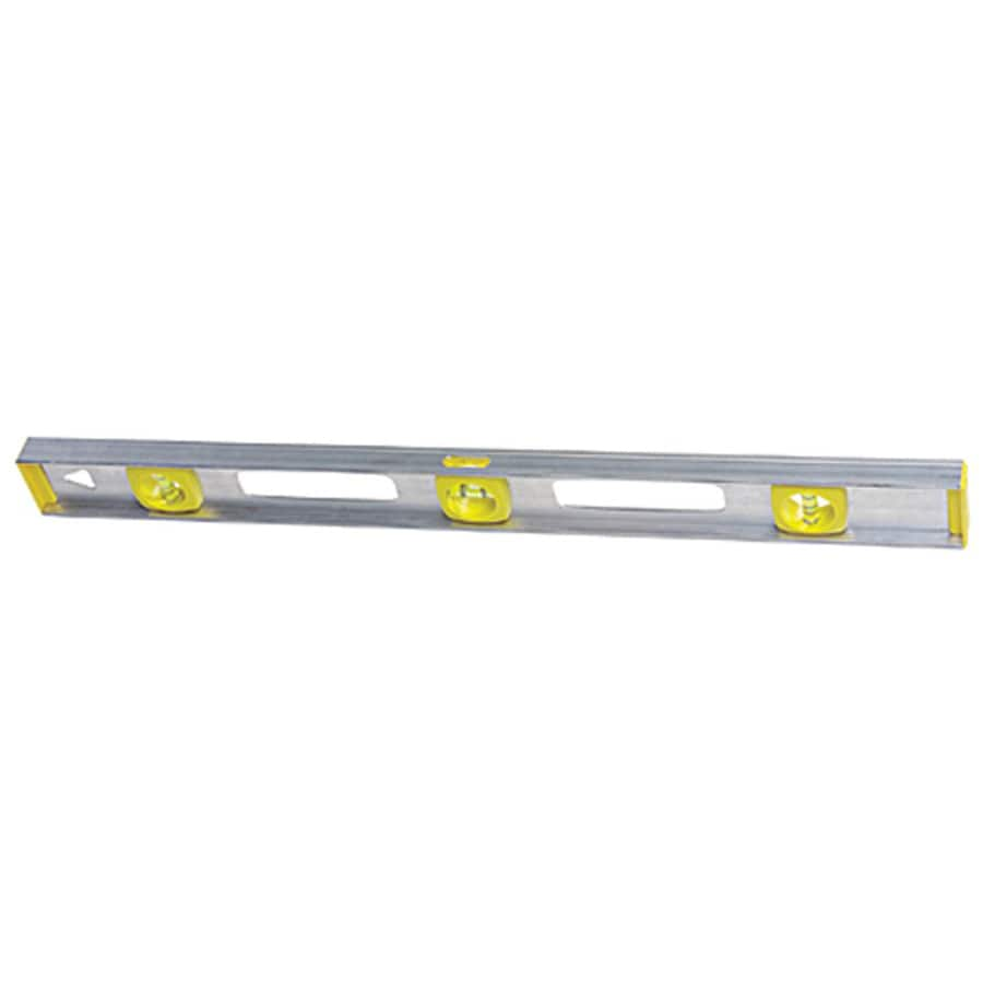 Stanley 48-inch Aluminum Level I-Beam Silver Level