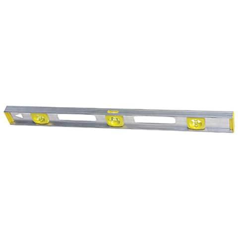 Stanley 48-inch Aluminum Level I-Beam Silver Level