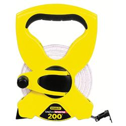 Stanley 200-foot Open Reel Fraction Tape Measurer
