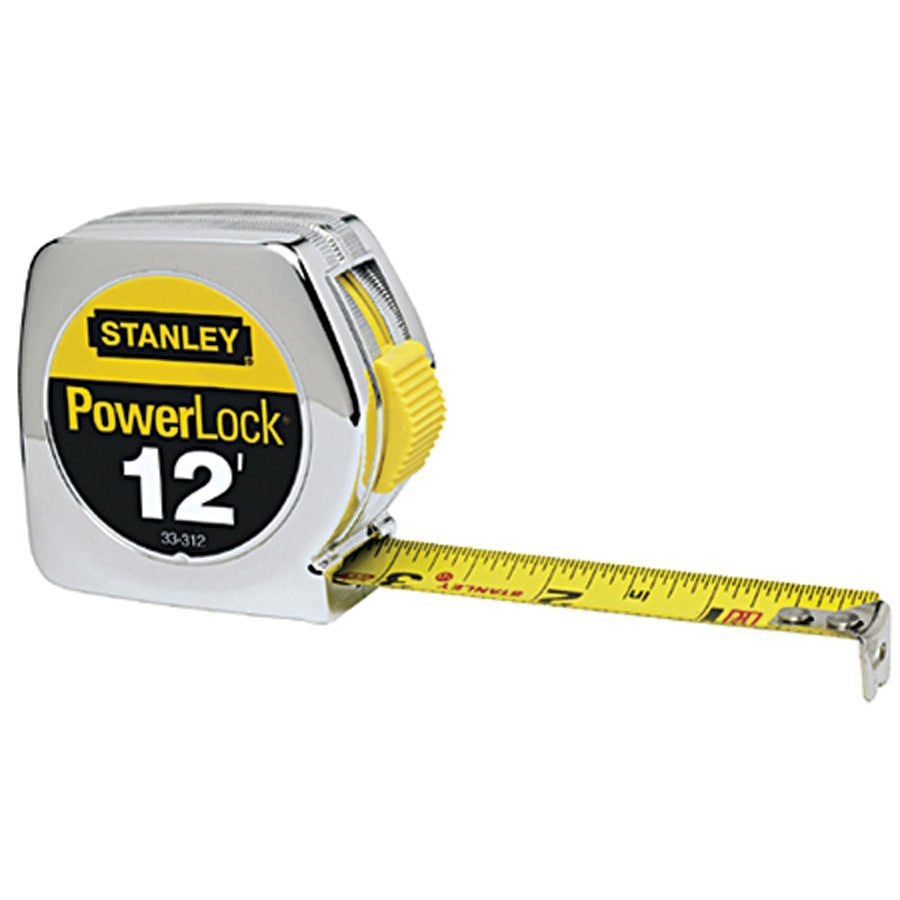Stanley Yellow 12-foot Taperuler - Thumbnail 0