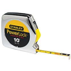 Stanley Pocket Power Lock 10-foot Tape Measurer