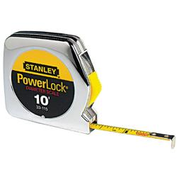 Stanley Pocket Power Lock 10-foot Tape Measurer