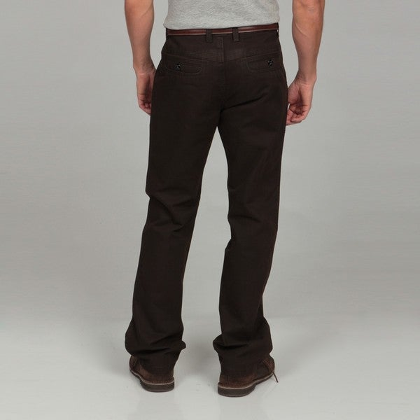 Men's Modern Fit Brown Pants