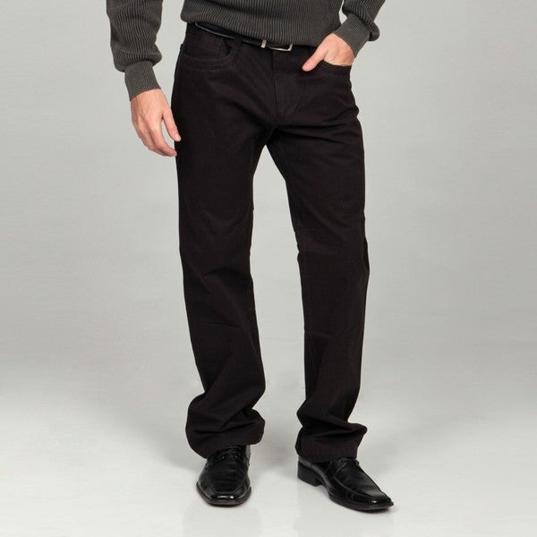 Men's Black Modern Fit Denim Jeans