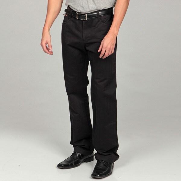 Men's Modern Fit Black Denim Jeans