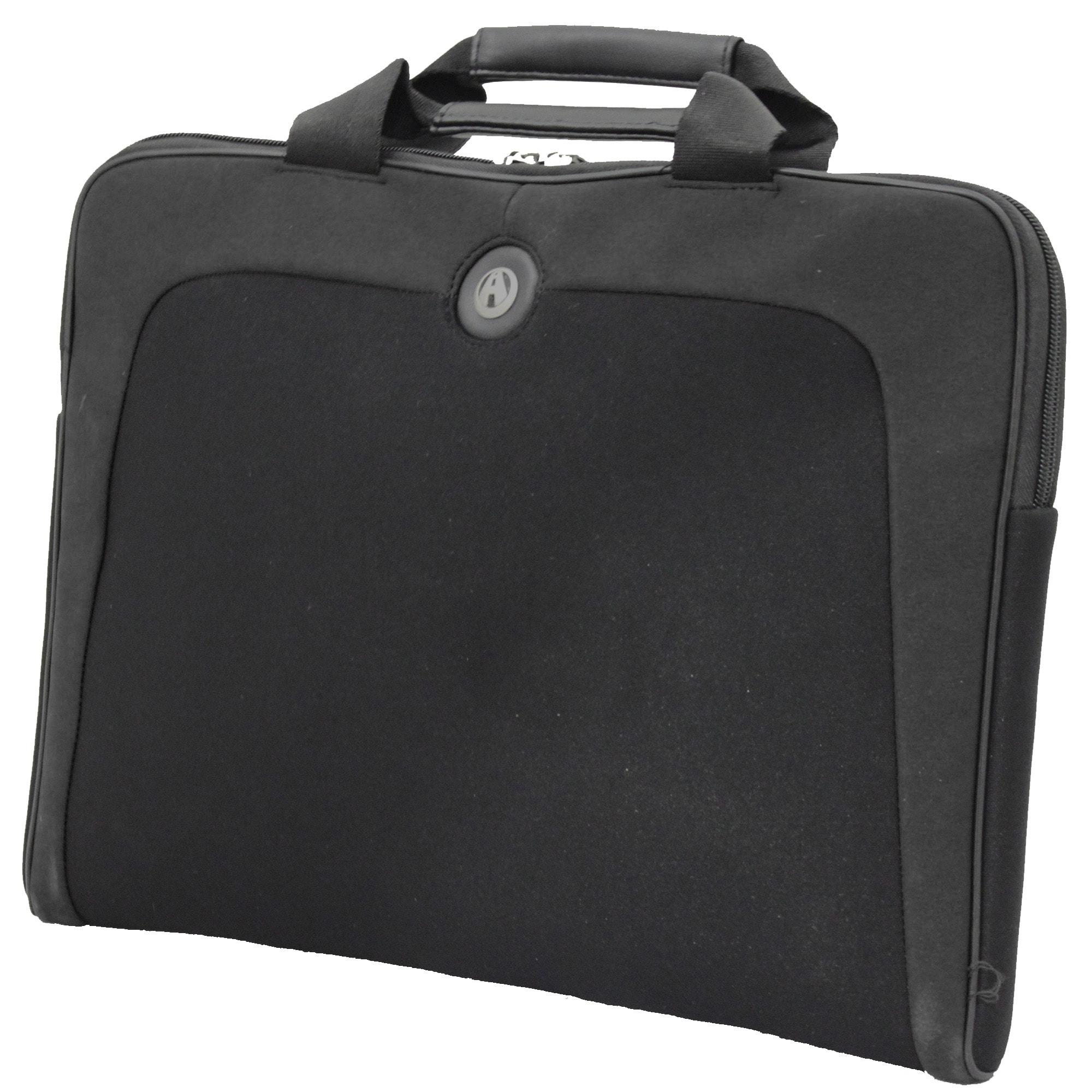Avenues Black 'Civic' 15.4-inch Laptop Sleeve