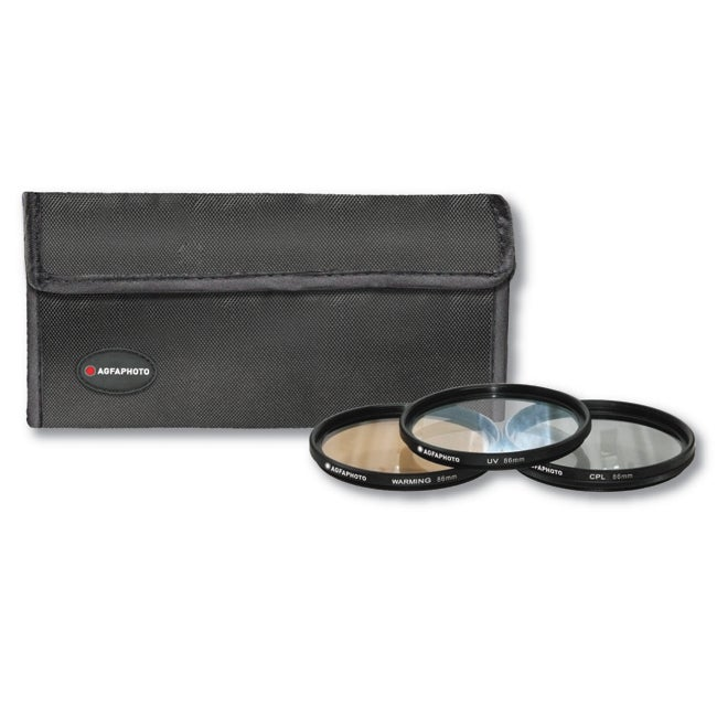 AGFA 86mm Clear Photo Filter Kit Lens Accessory