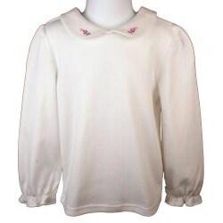 Little Bitty Pink Corduroy Jumper Dress - Thumbnail 1