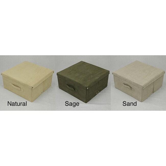 Microsuede Storage Box