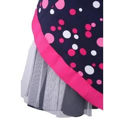 Bonnie Jean Navy Blue Polka Dot Toddler Dress