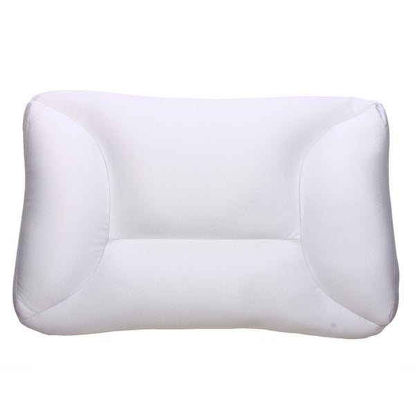 Shop The Sharper Image Kingqueen Size Micro Foam Bead Pillow Free