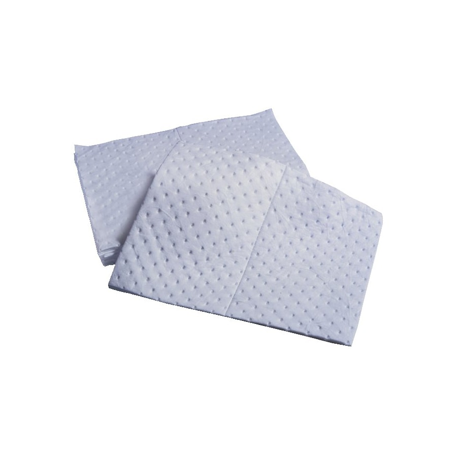 1-Ply Oil Sorbent Pad (Pack of 100) - Thumbnail 0