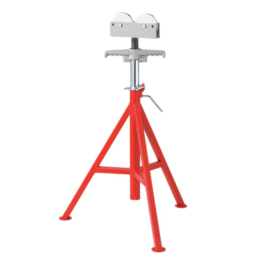 Ridgid 56672 Roller Head High Pipe Stand - Model RJ-99