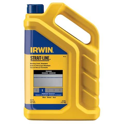 Irwin Strait-Line 5-pound Blue Marking Chalk Refill
