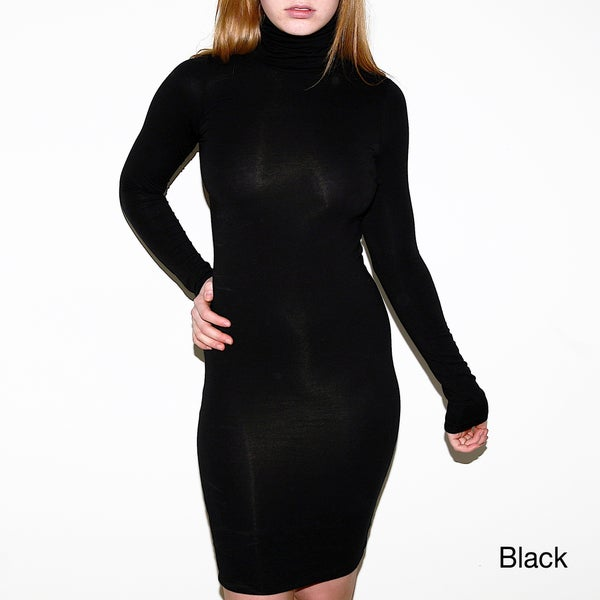 American apparel cotton spandex jersey L//S tartle neck Medium