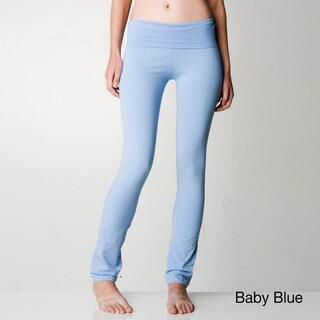 American Apparel Cotton Spandex Jersey Straight Leg Yoga Pant