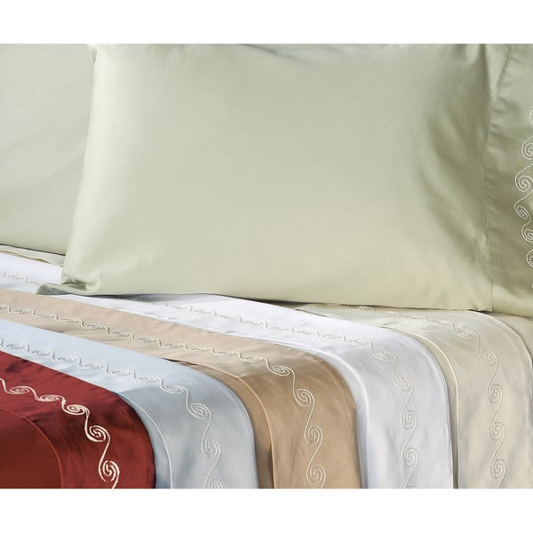 grand luxe egyptian cotton 500 thread count swirl