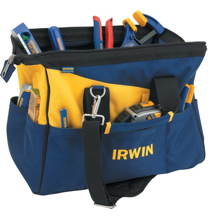 Irwin 16 Inch Contractors Tool Bag Free Shipping On