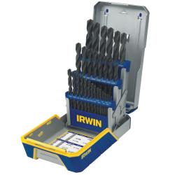 Irwin 29-piece Black Oxide Drill Bit Industrial Set