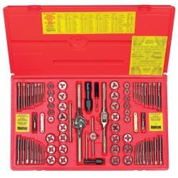 Irwin Hanson 76-piece Fractional/ Metric Tap and Die Set