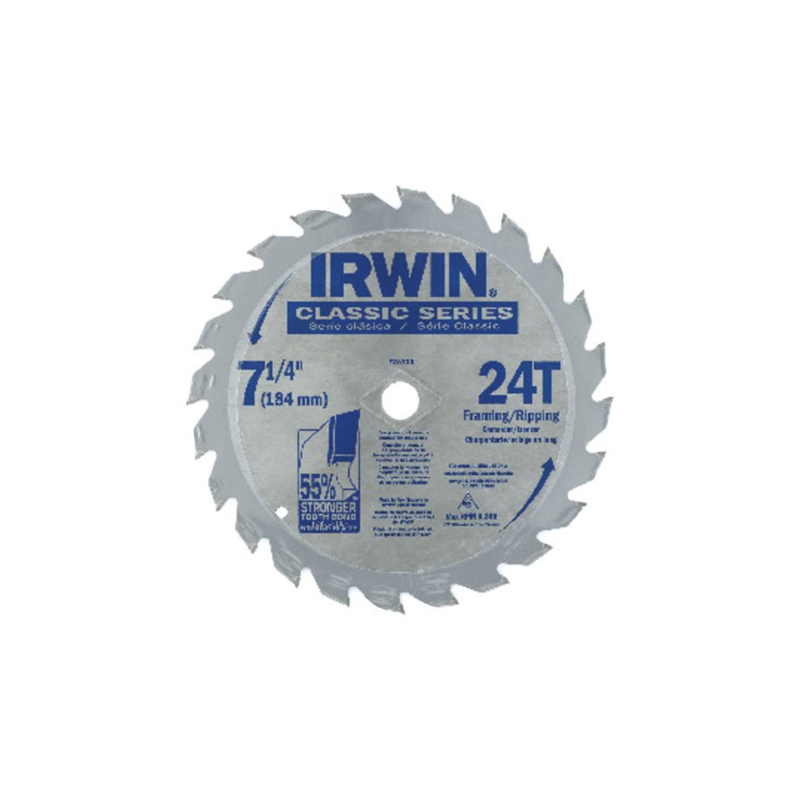 Irwin Carbide-tipped Circular Saw Blade