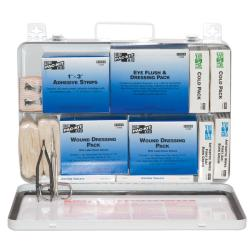 Pac-Kit Weatherproof Steel Industrial 50 Person First Aid Kit